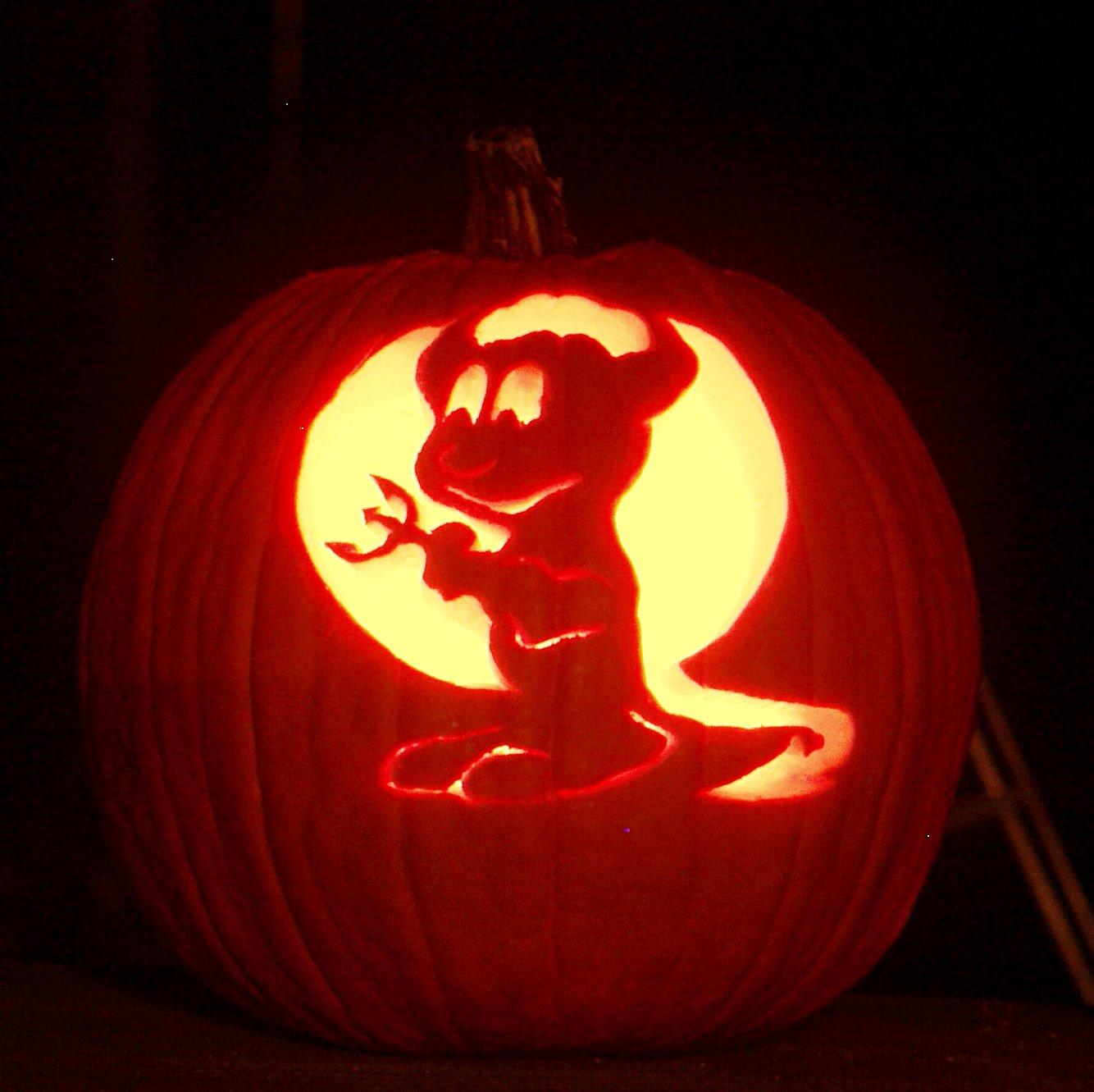 beastie pumpkin